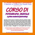 APERTE LE ISCRIZIONI AL 40° CORSO DI FOTOGRAFIA DIGITALE E PRIME NOZIONI DI PHOTOSHOP