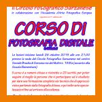 APERTE LE ISCRIZIONI PER IL 41° CORSO DI FOTOGRAFIA DIGITALE